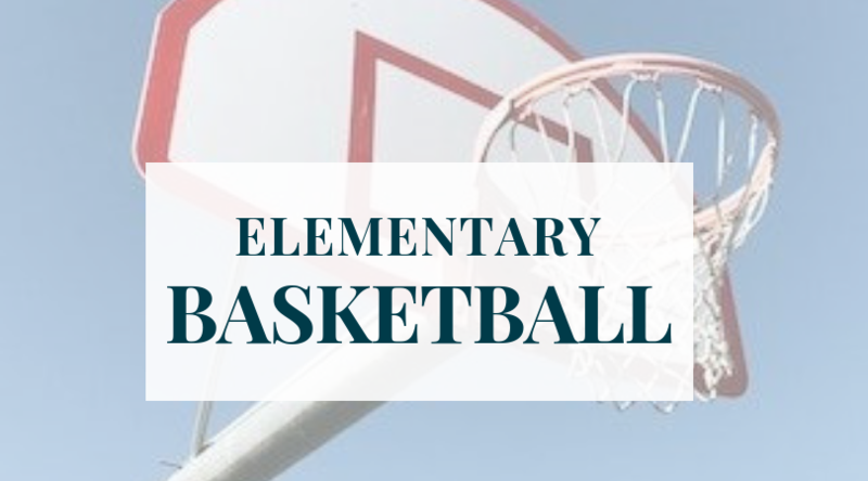 Elementary Basketball Registration