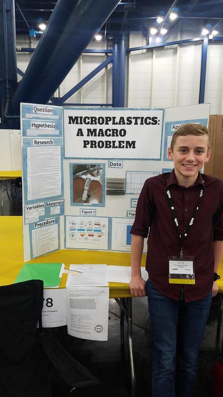 Tyler Schmidt, 8th-grade Bear Branch Junior High
