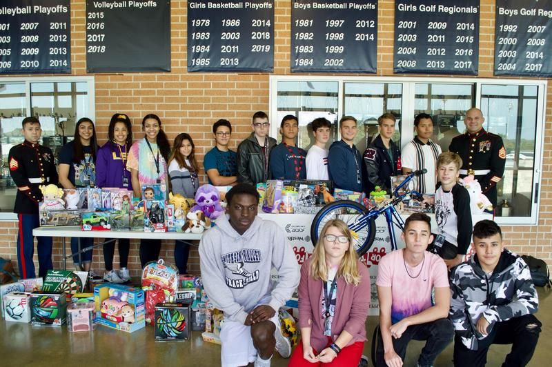 SVHS Toys for Tots drive