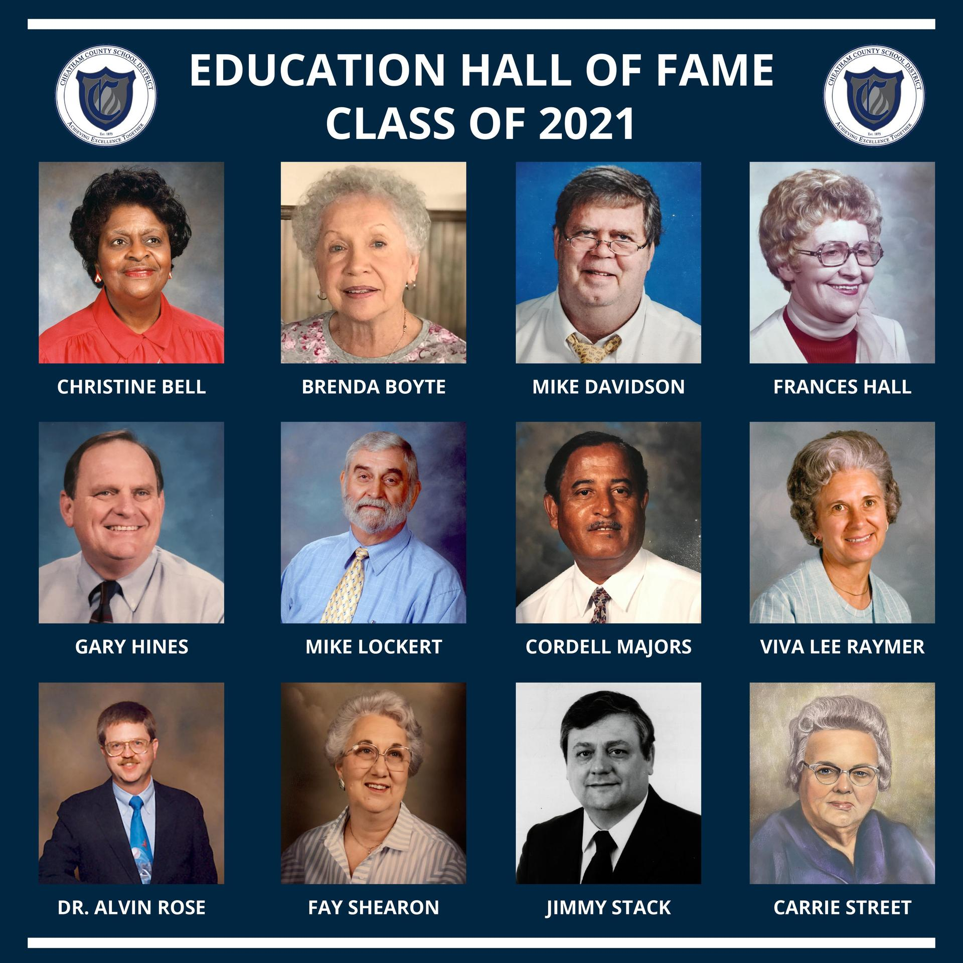 Cheatham County Education Hall of Fame