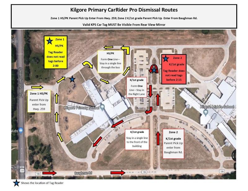 Kilgore Primary Car Rider Pro Dismissal Featured Photo