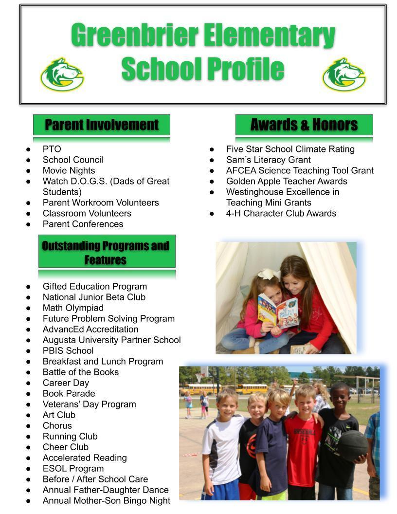 GBE School Profile pg2