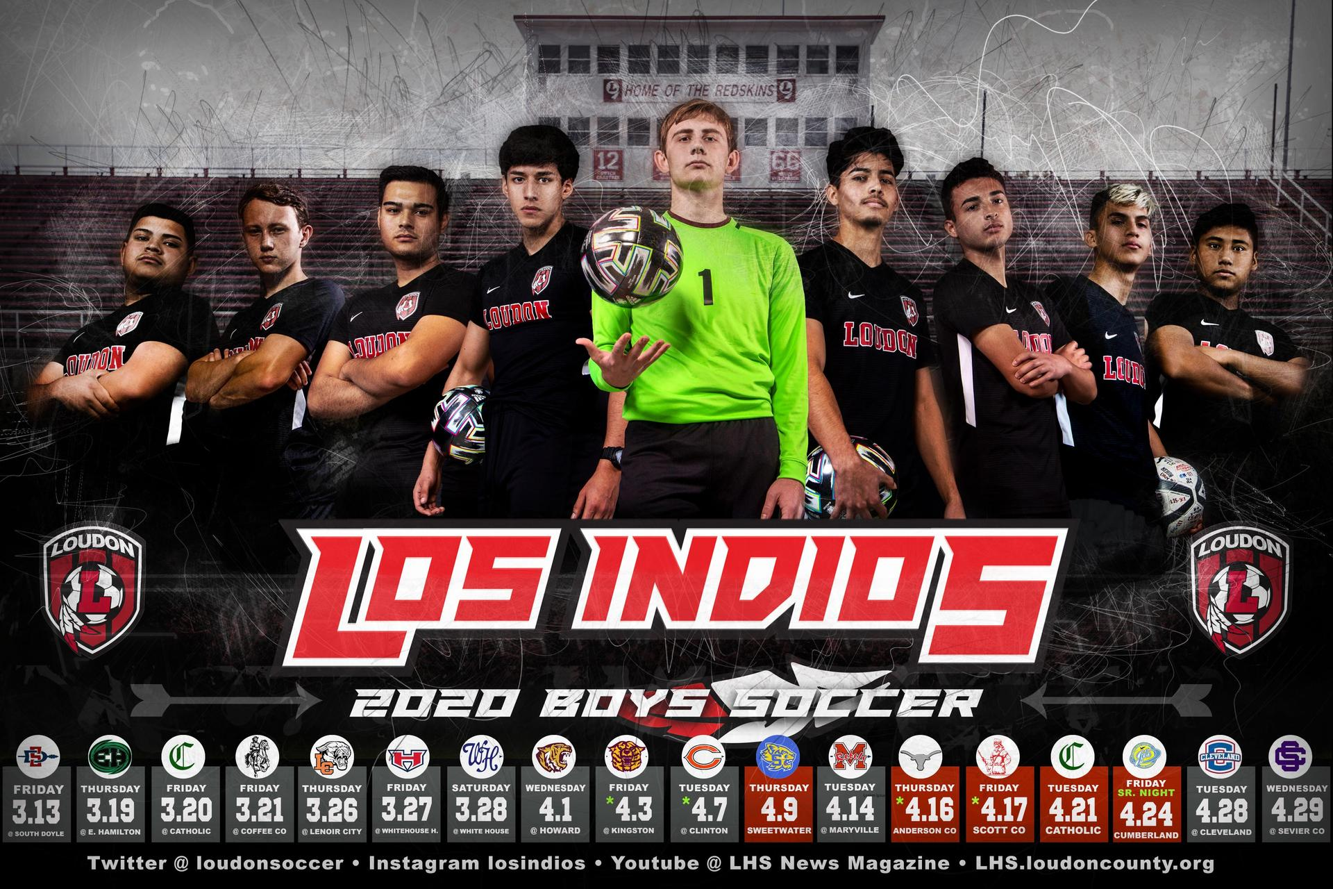 Soccer Schedule 2020