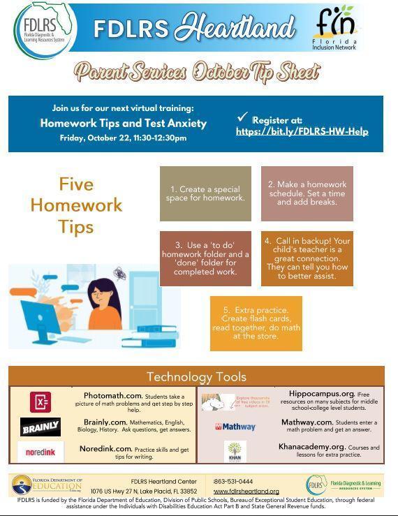 Parent Homework Support Featured Photo