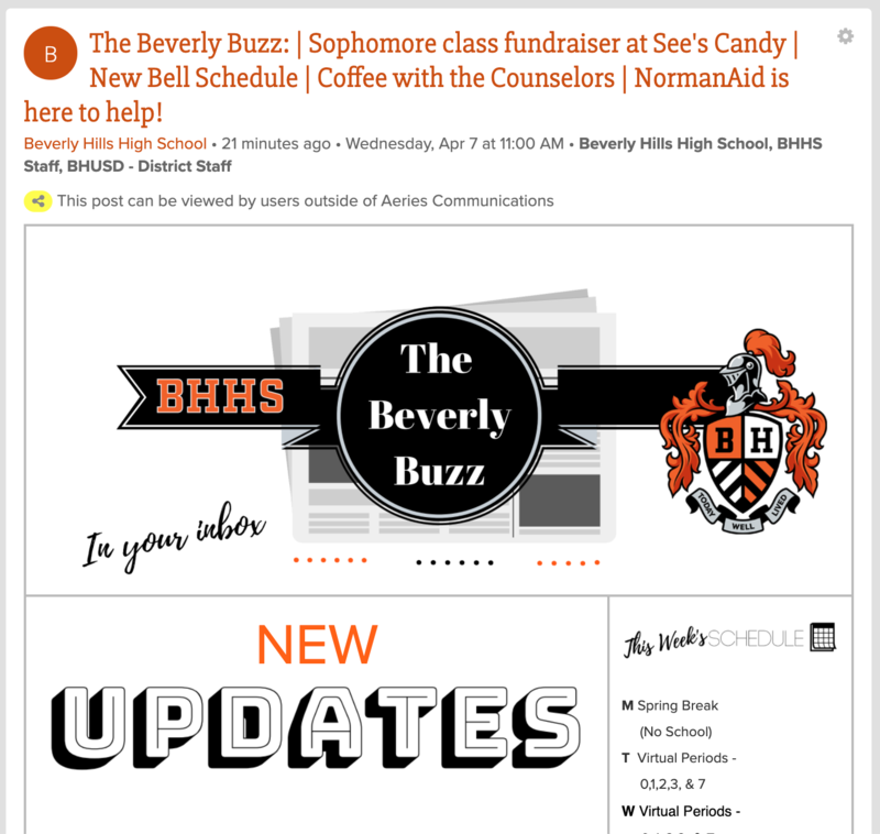 BHHS Newsletter - The Beverly Buzz - April 7, 2021