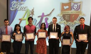 Edinburg Rotary Club honors the top students from Edinburg CISD's Fine Arts Program on March 12 at the Echo Hotel in Edinburg.