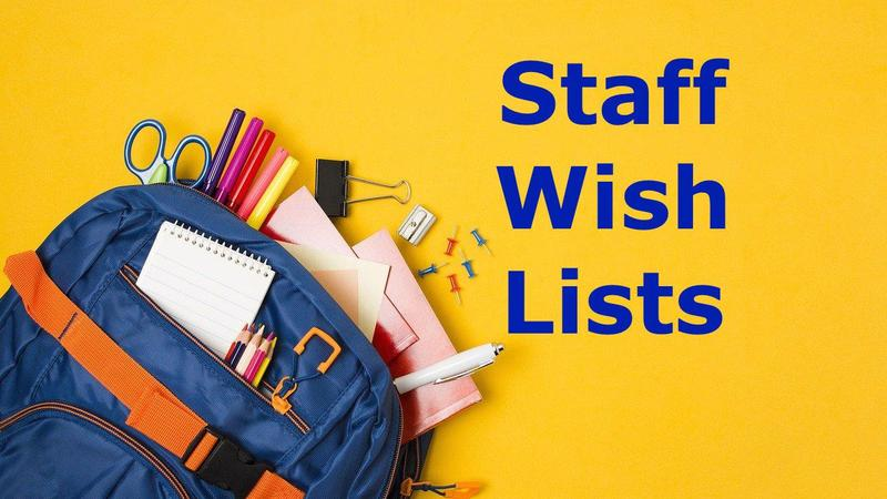 Staff Wish Lists Featured Photo