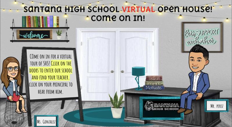Santana High School Virtual Back to School Night Featured Photo