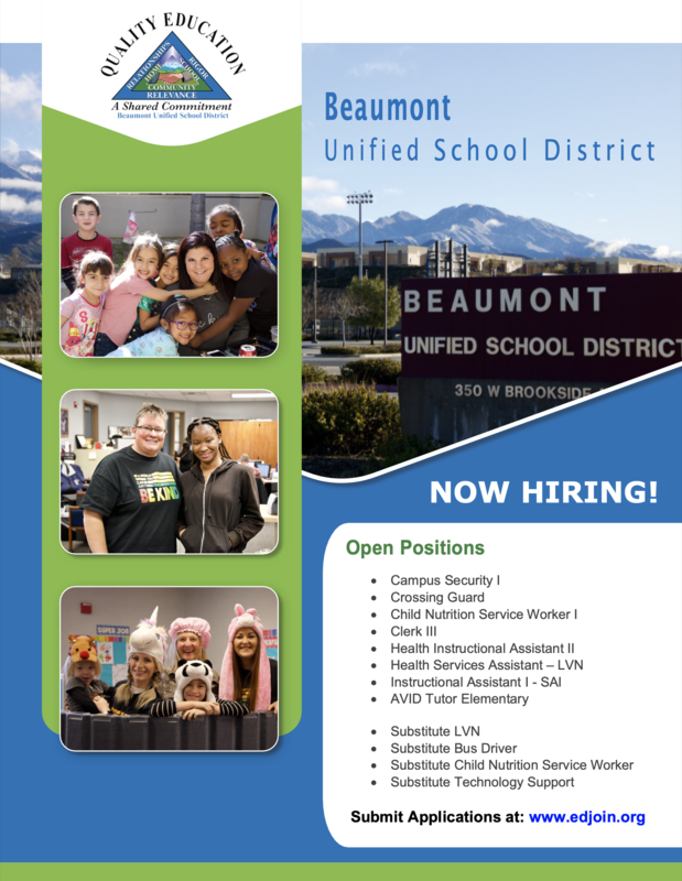 Flyer with pictures of students and staff and mountains in the background.