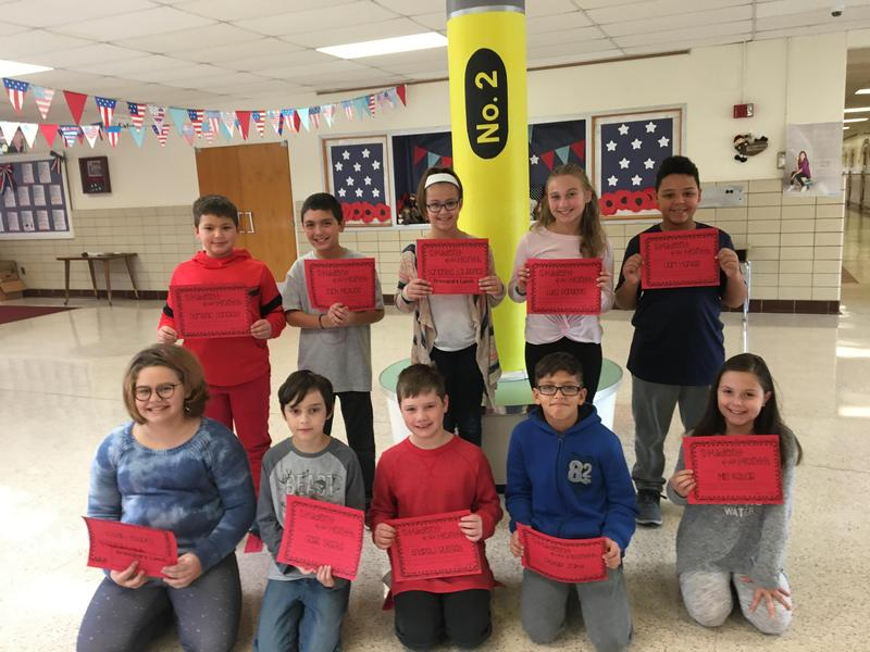 Students of the Month for October