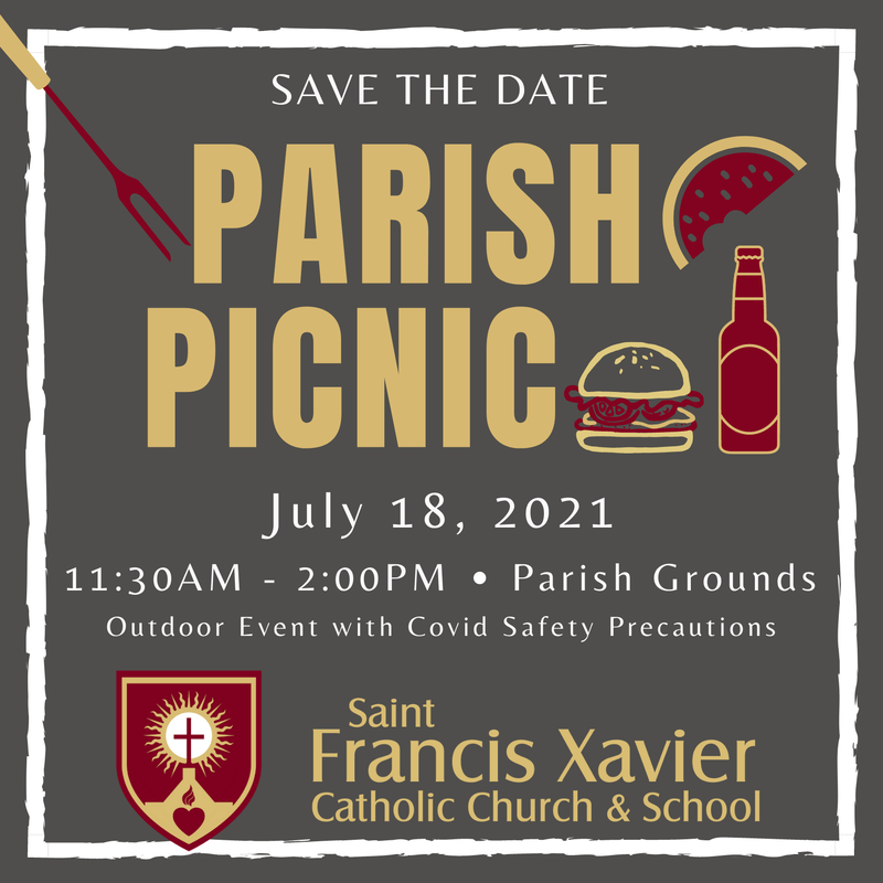 Join Us July 18th for Our Parish Picnic Thumbnail Image