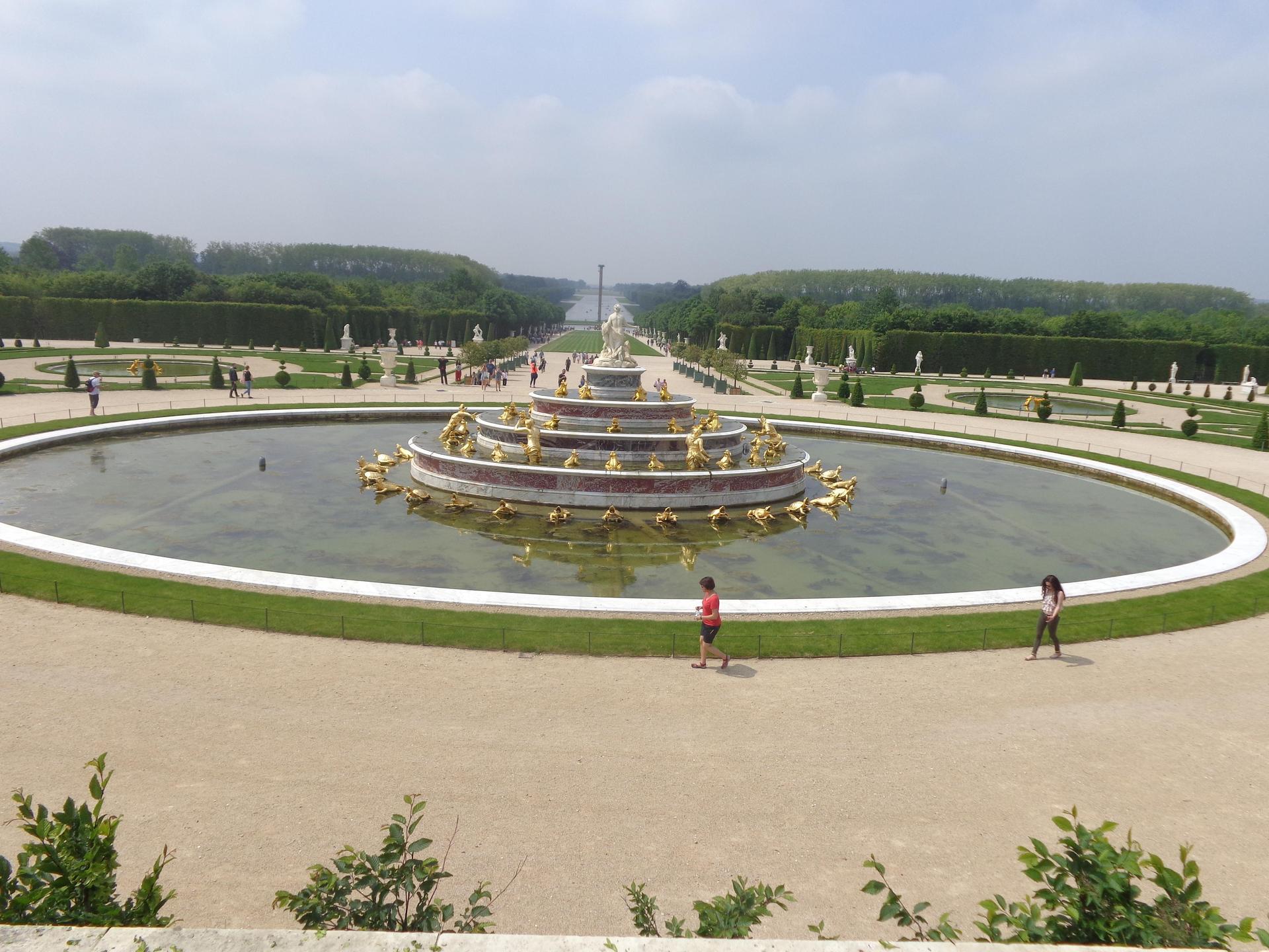 Versailles l'allee des rois