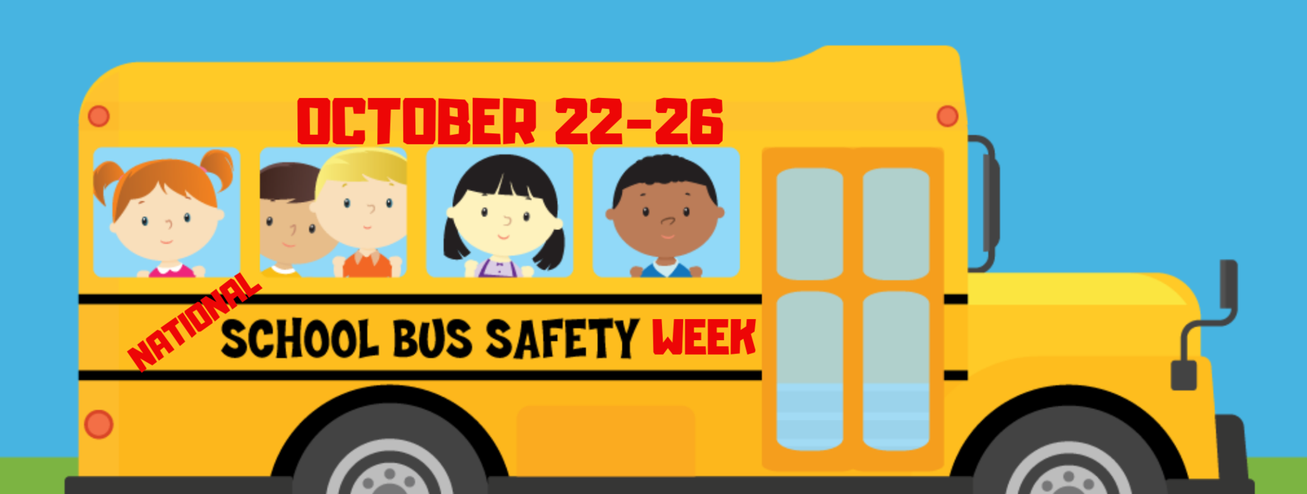 national school bus safety week October 22-26