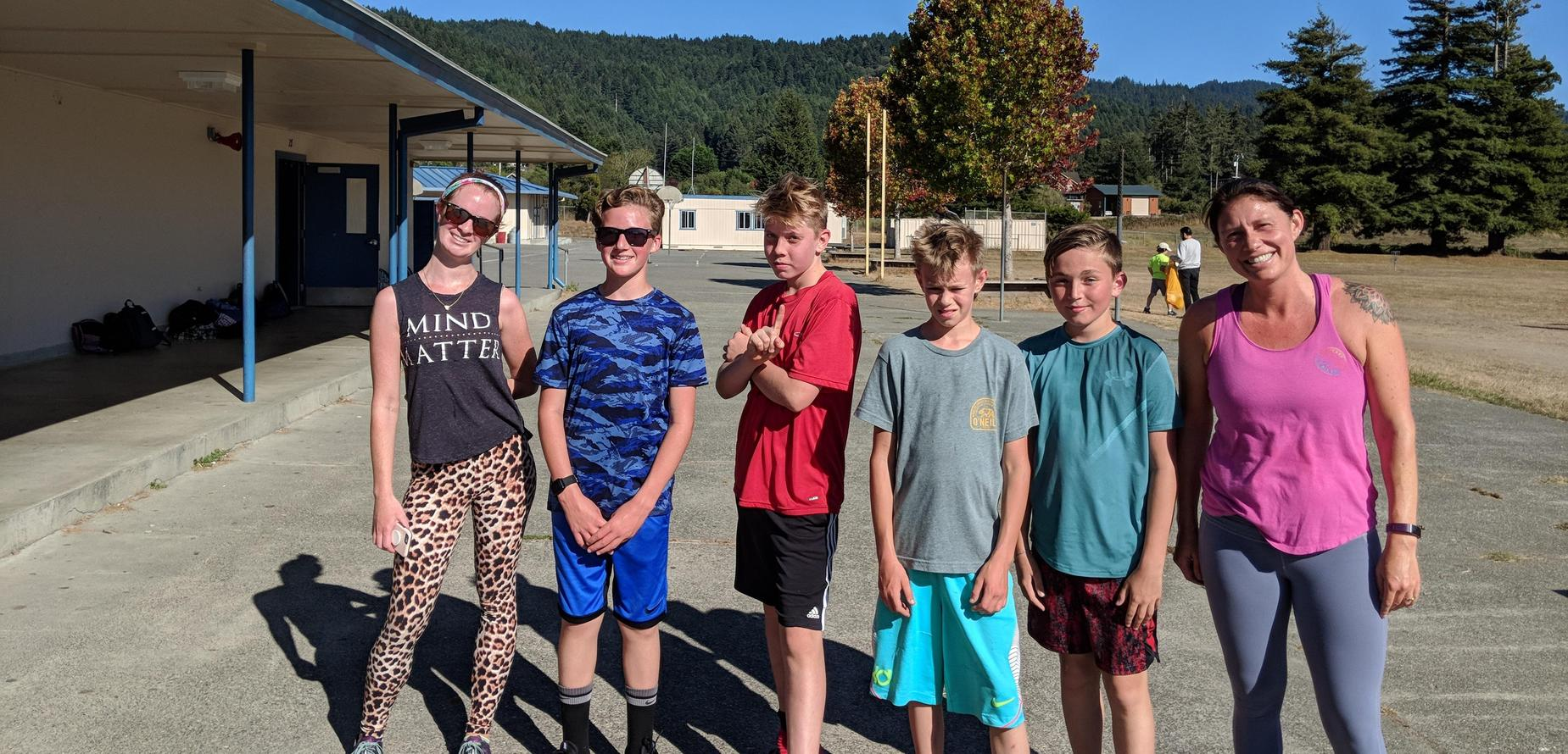 SBMS Cross Country, 2019