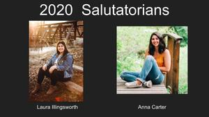 2020  Salutatorians