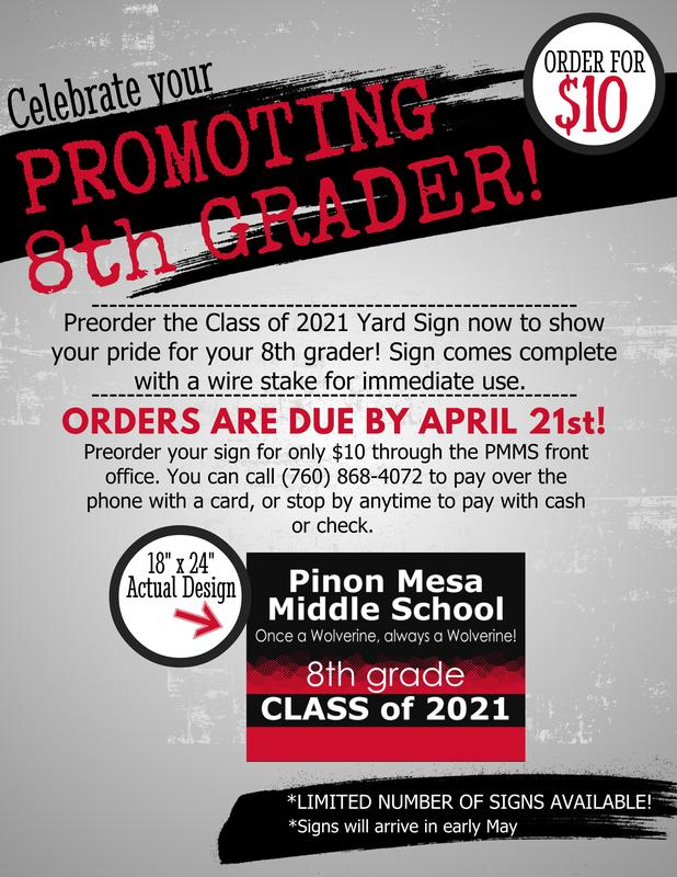 Attention 8th Grade Families! Featured Photo