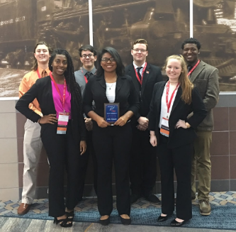 FBLA students at convention 2017-2018