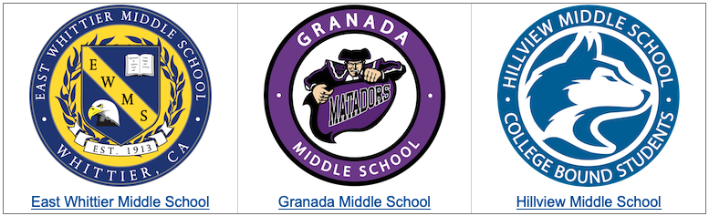 Middle School Logos
