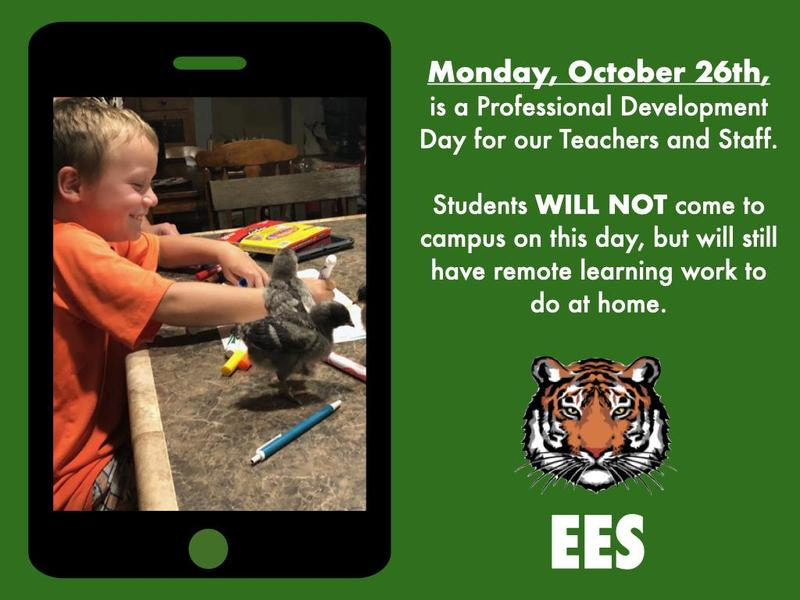 Monday Oct. 26th - Remote Learning Day Featured Photo