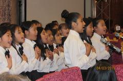 Rhythmax Choir Performance at Garvey Education Foundation Gala
