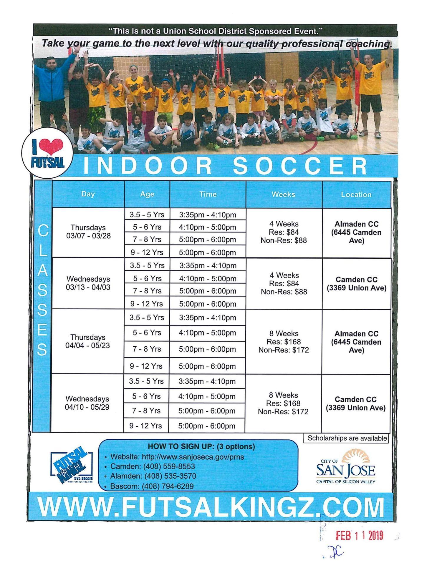 FutsalKingz Indoor Soccer