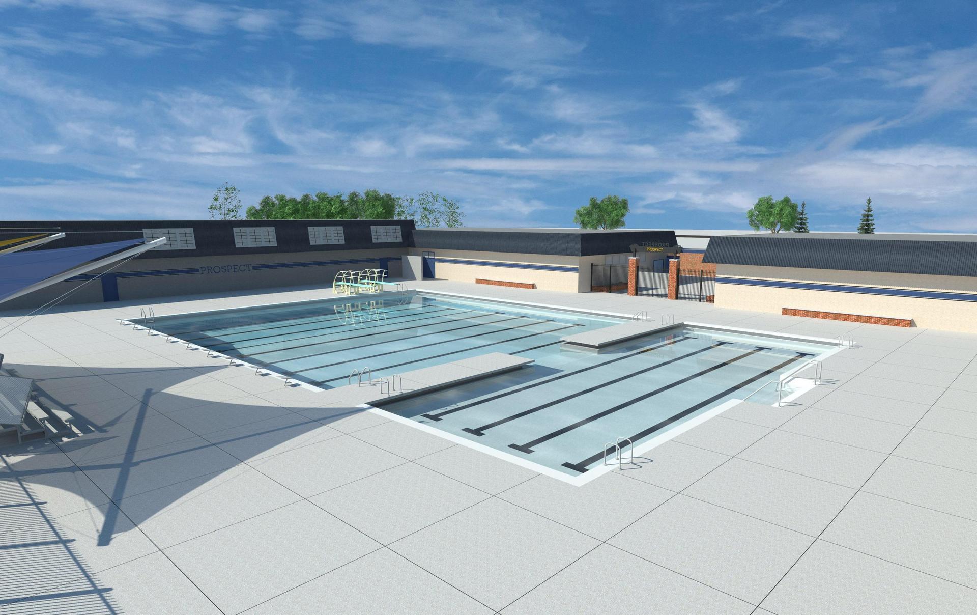New pool design Summer 2020