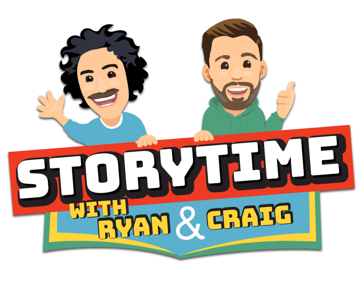 Logo: Storytime with Ryan and Craig