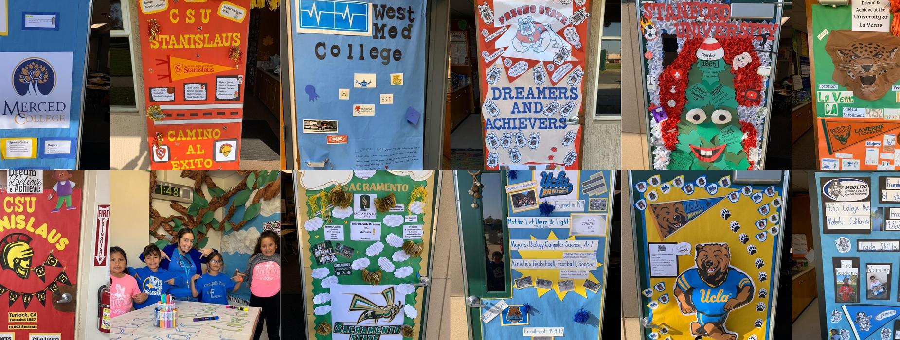 College Door Contest