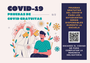 Covid Testing Flyer Spanish