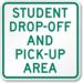 Dropoff Sign