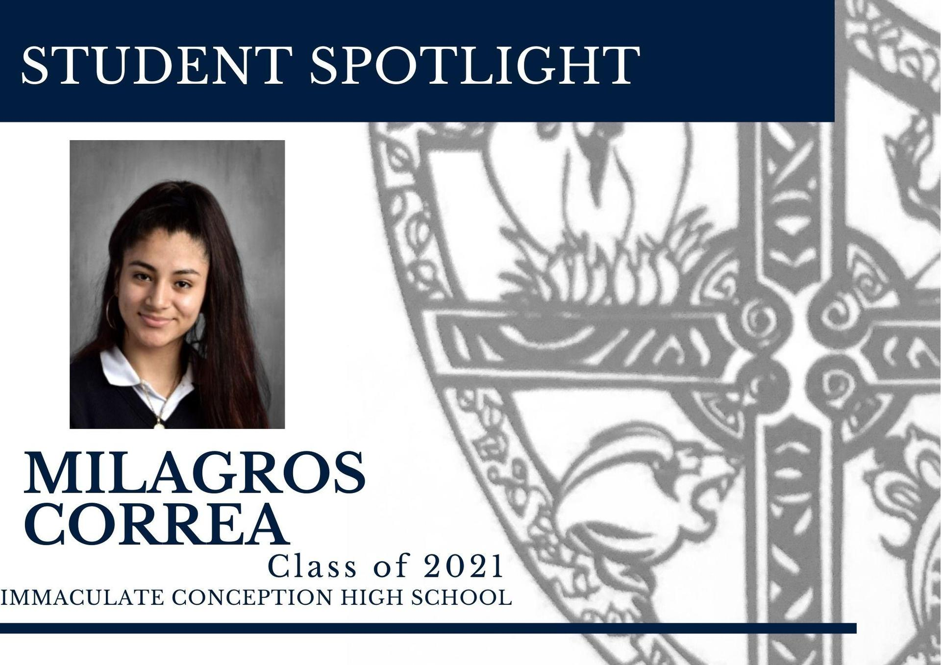 Milagros Correa Class of 2021