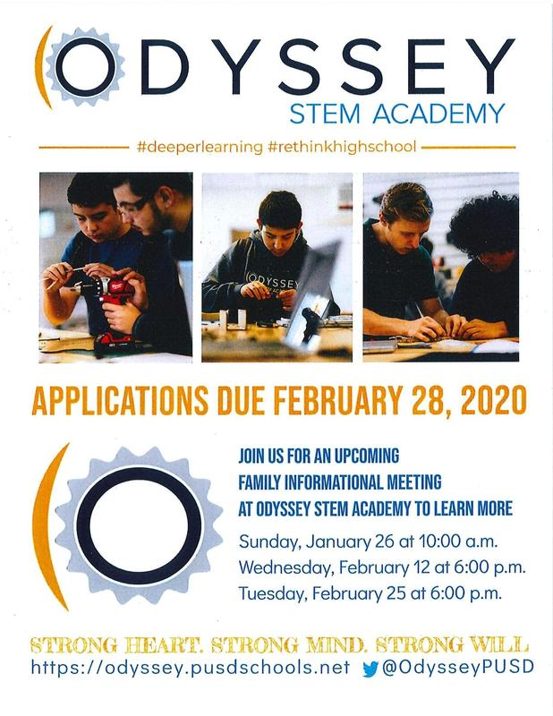 Odyssey STEM Academy is Recruiting for the Class of 2024 Featured Photo