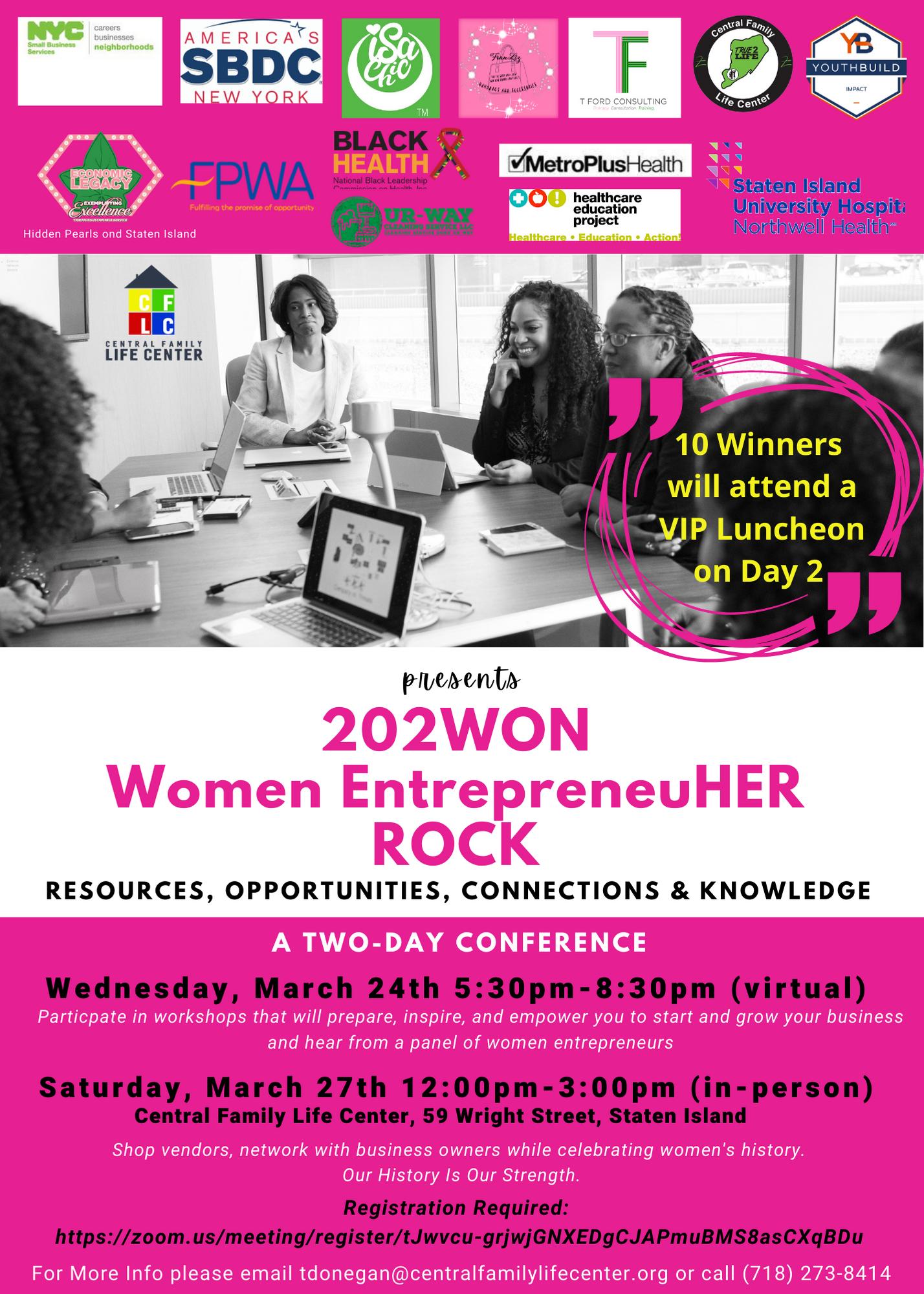 Women Entrepreneur Conference March 24