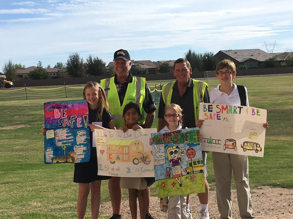 National School Bus Safety Week Art Contest Winners