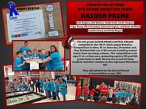 4th Grade Robotics Team advances to 2nd Round robotics competition