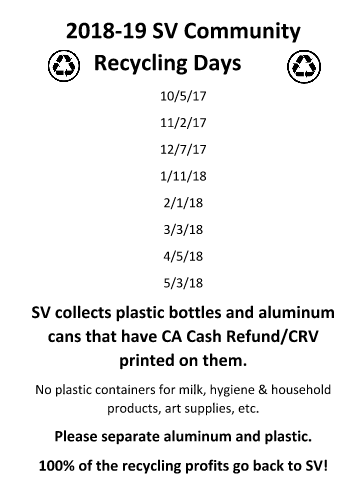 Community Recycling Days