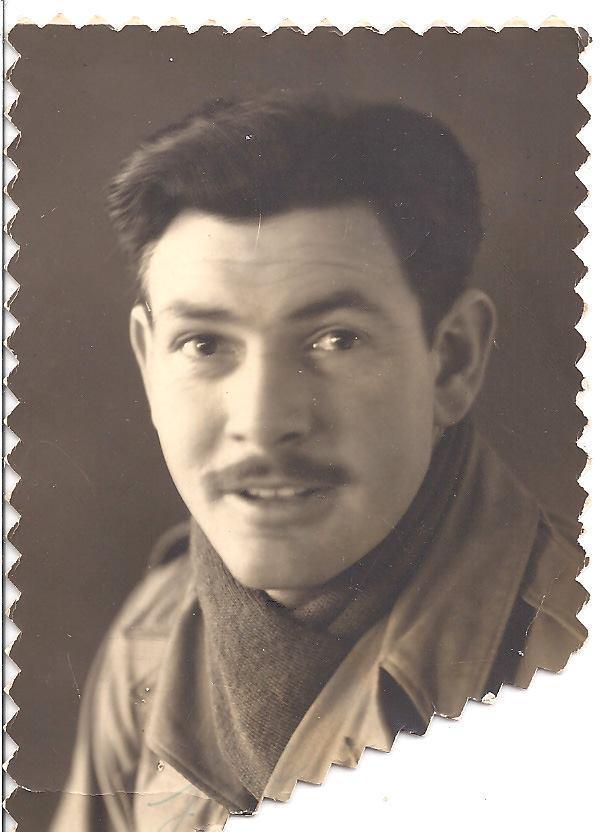 Grandpa Bruce (Moose) Miller 1943