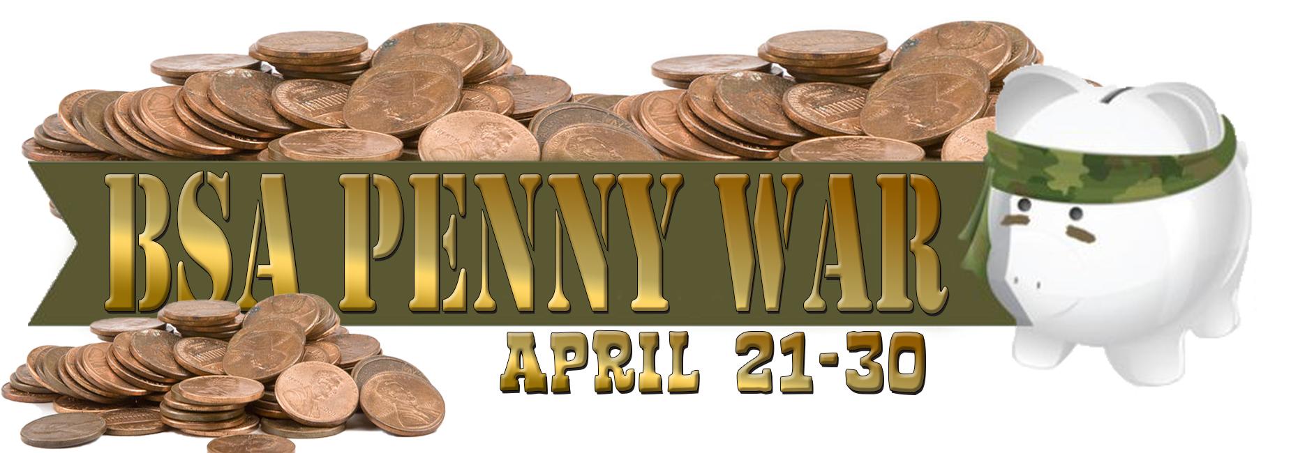 BSA Penny War April 21-30