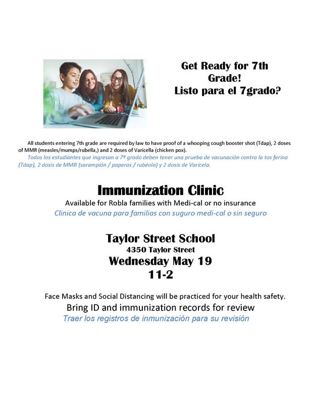 Immunizations Clinic