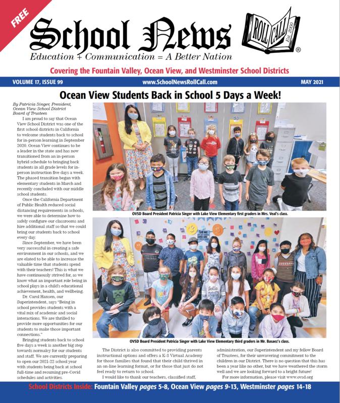 School News - May 2021