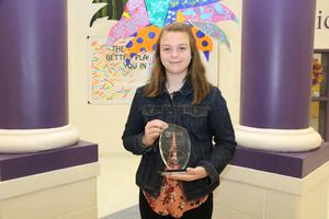 "B-L Middle School Sixth Grader Named ""Student Volunteer of the Year"""