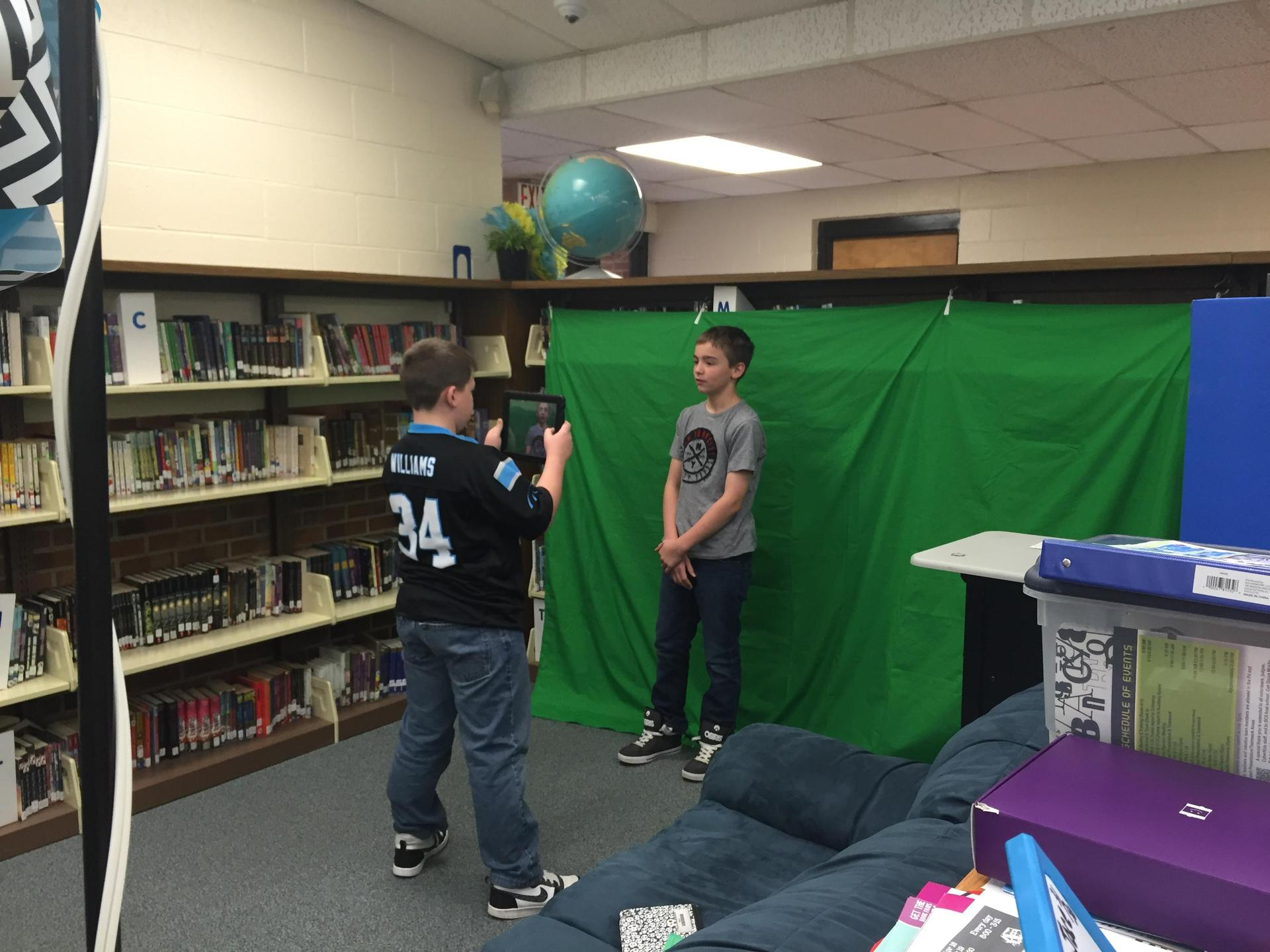 Explore and Discover using Green Screen Video Production