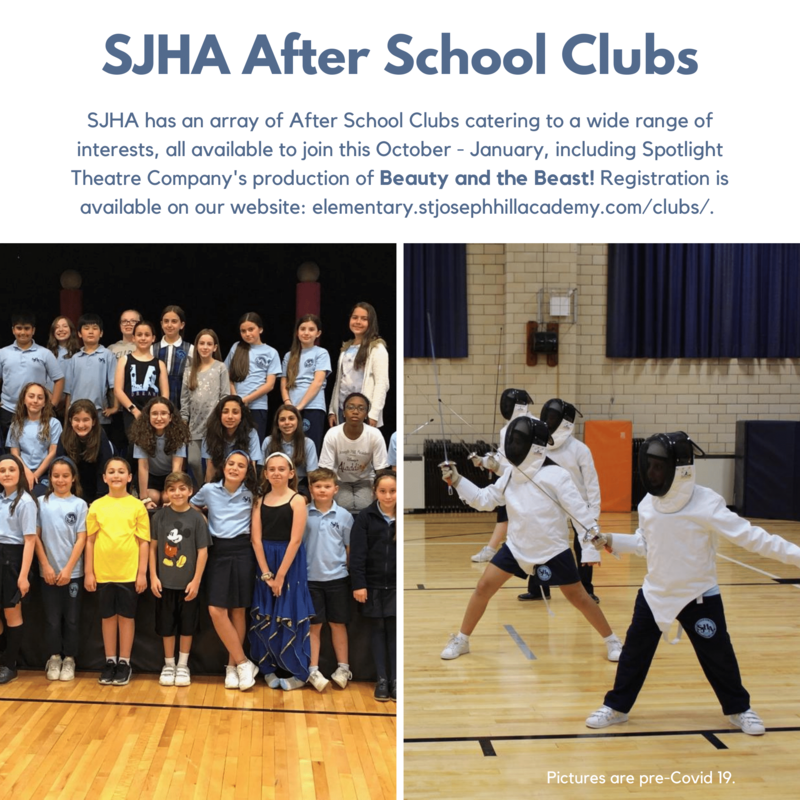 SJHA After School Clubs Featured Photo