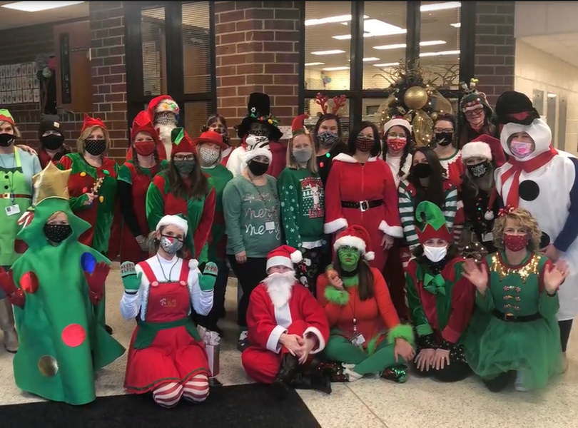 Staff Christmas picture
