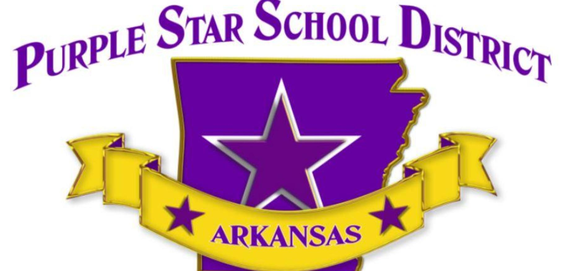 Purple Star School District graphic