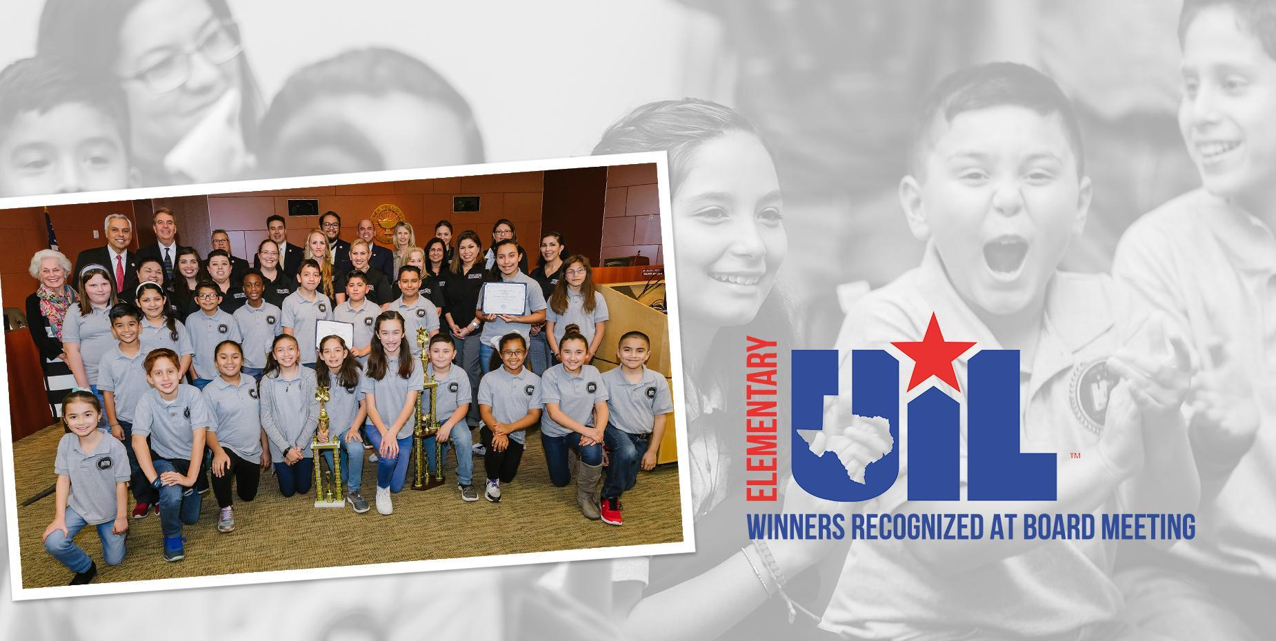 Elementary UIL Winners Recognized