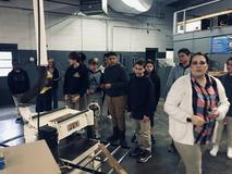 8th grade visits Career and Tech