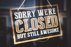 Closed Sign Photo by Tim Mossholder from Pexels