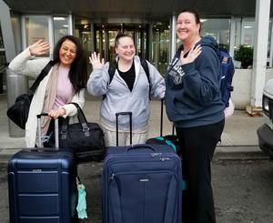 Staff leaving for Kenya from JFK