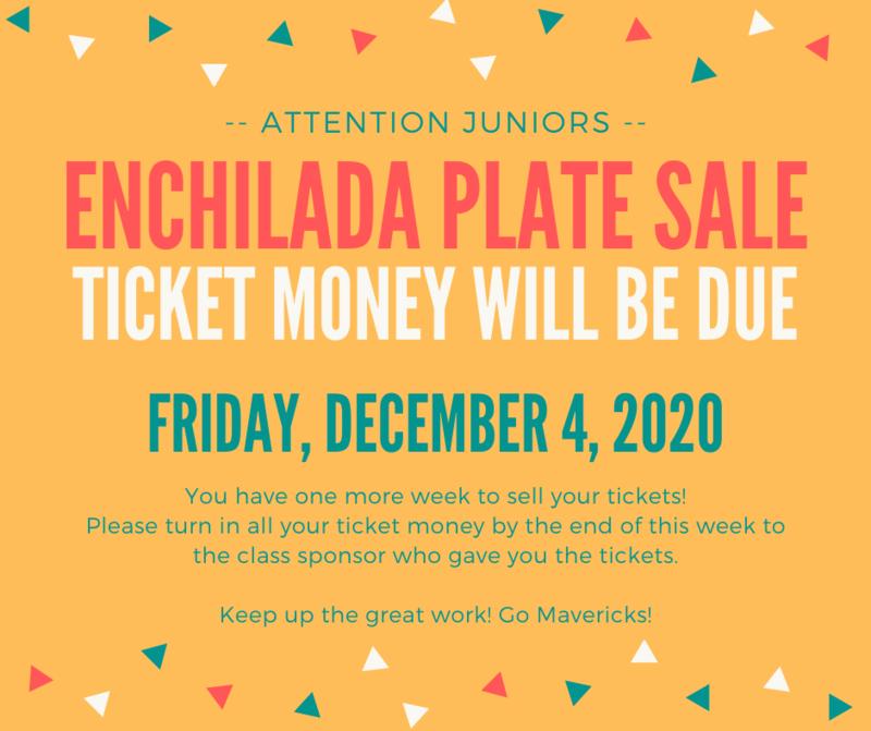 Enchilada Plate Sale - Juniors Thumbnail Image